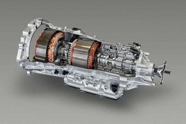 多级混合动力系统THS II