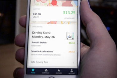 "Uber增?#21360;?#20241;息提醒+超速报警""功能"