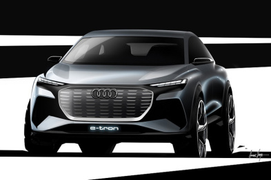 奥迪Q4 e-tron概念车将亮相日内瓦,采用大众MEB平台架构