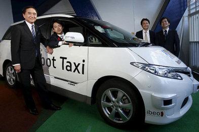 除了开启城市摆渡,日本自动驾驶出租还曝光了接送服务专利