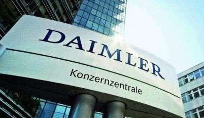 戴姆勒寻求高盛融资增持北京汽车