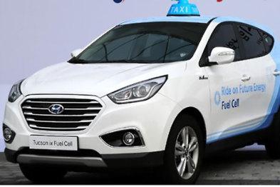 韩政府联合现代启动氢燃料电池出租车试点