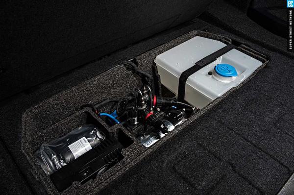 """宝马M4 GTS设计在后备箱中的""""储水罐"""""""
