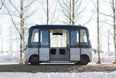 MUJI与sensible 4发布全天候无人驾驶客车