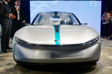 前途K20概念车亮相,基于全新纯电动小型乘用车平台