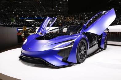 性能值爆表的Techrules 概念车,技术的奥秘都在这里!