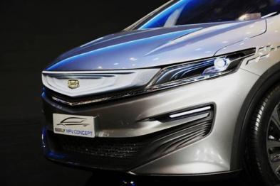 吉利MPV概念车上海车展全球首发