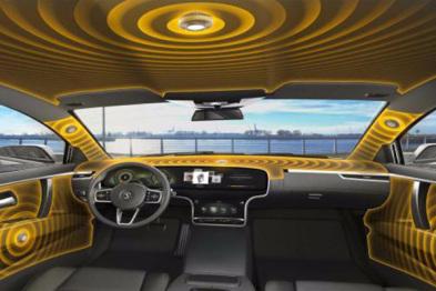 大陆发布新型音响系统,汽车本身即扬声器