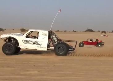 HSR Motors用特斯拉电机打造沙漠越野车