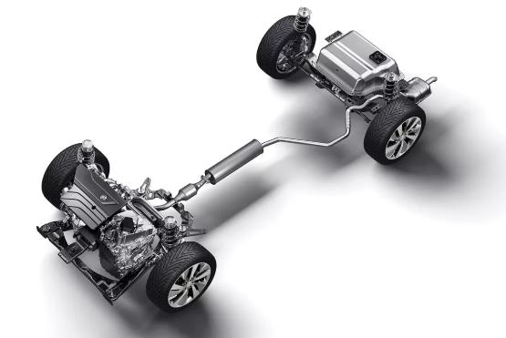 插电式混动车别克VELITE 6搭载高性能插电式混合动力系统