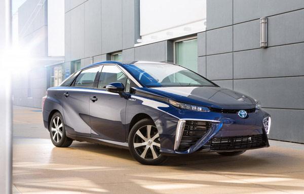 丰田的Mirai燃料电池车