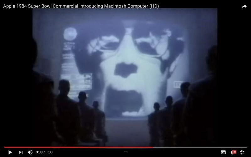 来自初代Mac广告《1984》