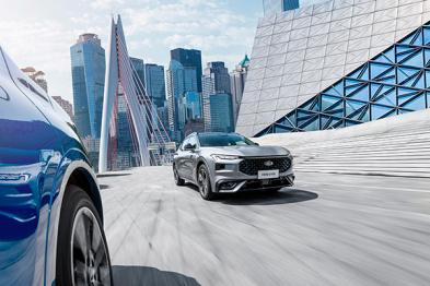 可能是最不传统的轿跑SUV,长安福特EVOS正式开启预售