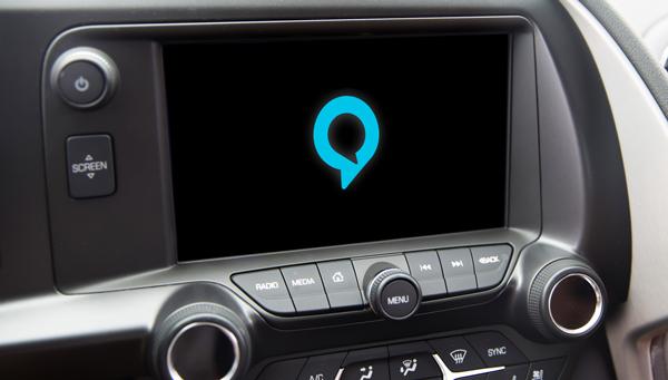 搭载了亚马逊Alexa语音助手系统的车机