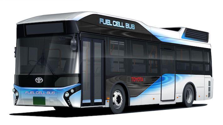 丰田燃料电池(fc)巴士