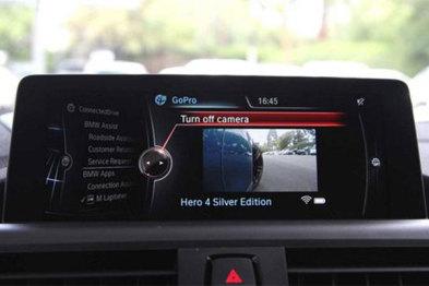 宝马支持远程控制GoPro,视频能同步到手机