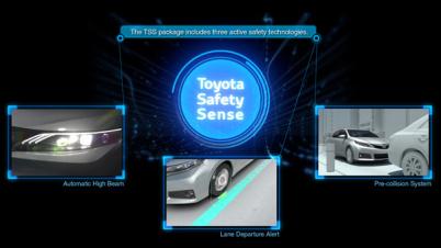 丰田计划明年推出二代Safety Sense安全系统套件