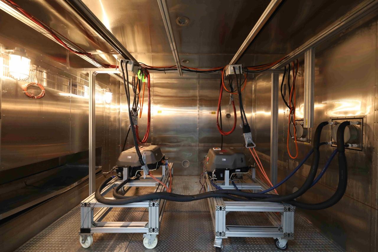 电池测试实验室