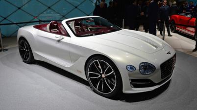 宾利发布EXP 12 Speed 6e纯电动概念车