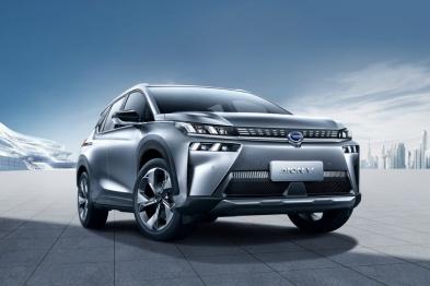 广汽新能源埃安V迎来全球首发,20万元内就能买到的续航600公里的电动车