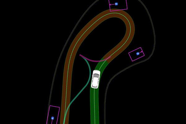 谷歌自动驾驶汽车正在学习三点转弯