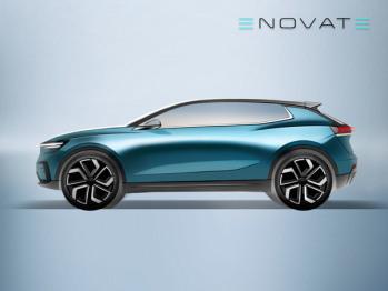 电咖ENOVATE品牌首款产品设计图曝光:定位B级SUV