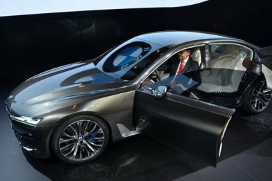 Vision Future Luxury 如何预言宝马未来 ?