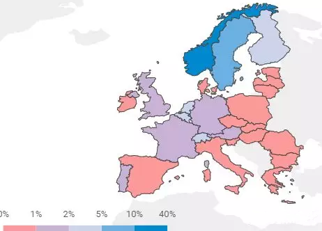 网页地图:https://www.acea.be/statistics/article/interactive-map-correlation-between-uptake-of-electric-cars-and-gdp-in-EU