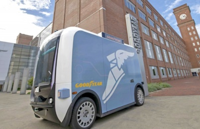 固特异与洛克汽车合作自动驾驶汽车项目