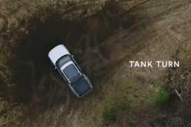 Rivian像坦克一样原地画Donut,到底用了什么黑科技?