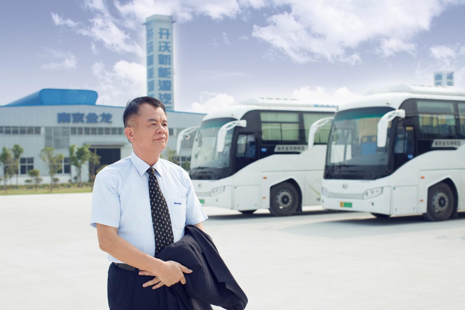 创维集团创始人、开沃新能源汽车集团董事长黄宏生