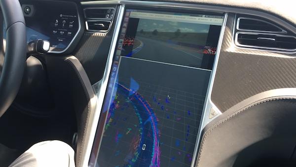 博世高度自动驾驶HMI界面——地图与定位数据
