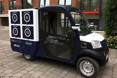 英国测试超市无人驾驶卡车,或2019年应用