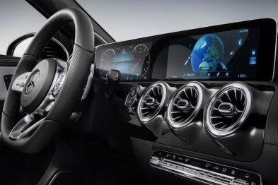 奔驰将在2018CES上发布新车载信息系统