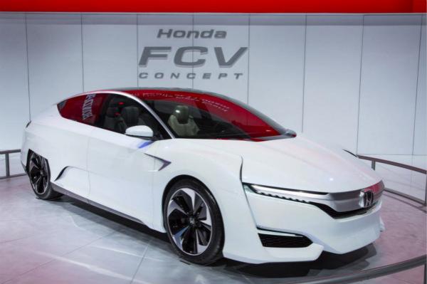 本田燃料电池车