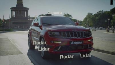 麦格纳推出Max4自动驾驶平台,瞄准L4级量产车型