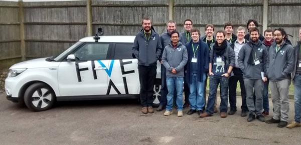 英国初创公司FiveAI获1400万英镑融资,主打人工智能驱动下的城市自动驾驶