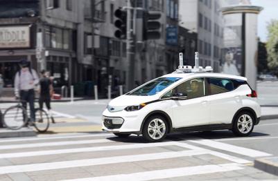 Cruise开始在旧金山测试雪佛兰Bolt自动驾驶车