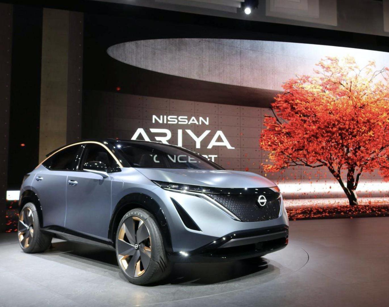 日产汽车发布纯电动跨界SUV日产Ariya