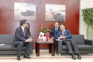 徐留平会见丰田执行役员,探讨一汽与丰田进一步合作
