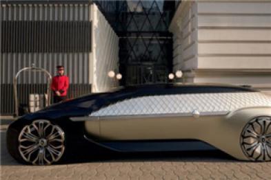 雷诺在巴黎车展推出EZ-ULTIMO机器人概念车,提供高端按需出行服务