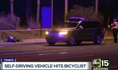 Uber与无人车致命事故受害者家人达成和解协议