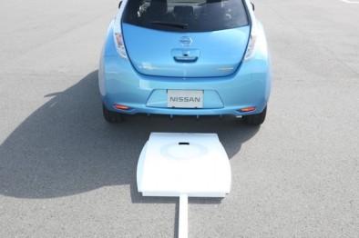 日产开发电动汽车无线充电技术