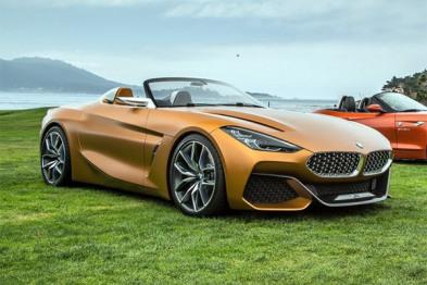 全新宝马Z4概念车发布,2018年量产