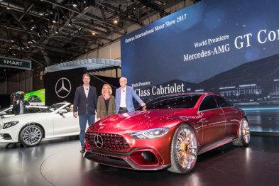 奔驰日内瓦车展发布AMG GT概念车,重回第一后的路要如何走?