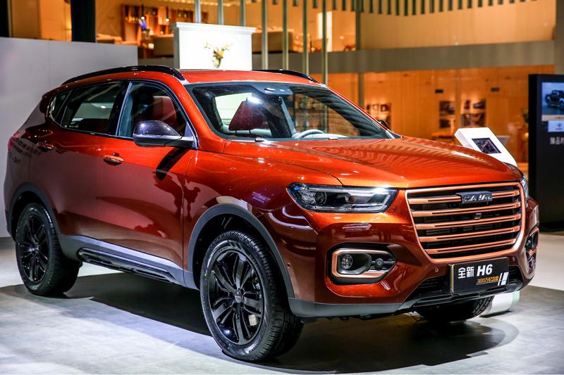 为迎接哈弗H6销量超300万,长城与百度定制了一款新车丨上海车展