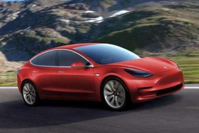 特斯拉Model 3电动车2018年销量称霸全球电动车市场