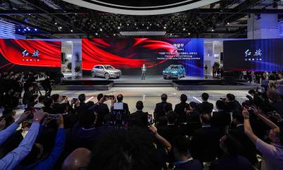 红旗品牌携首款豪华B级SUV亮相上海车展