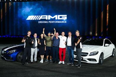 全新梅赛德斯-AMG C63轿跑车国内上市