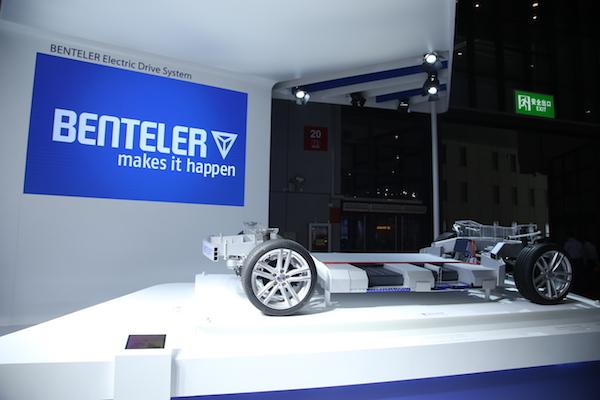 本特勒推出电动汽车专用底盘系统